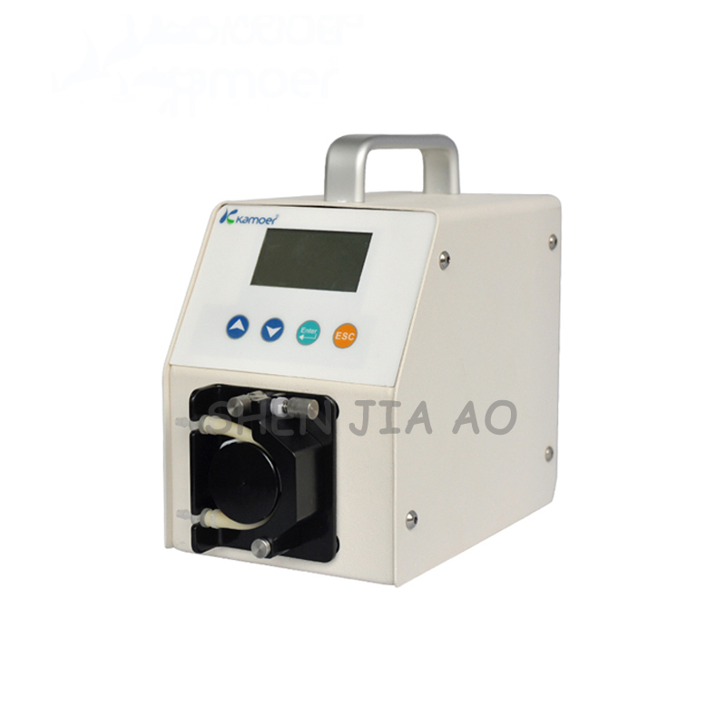 Pompe péristaltique intelligente machine de remplissage liquide étape de haute précision dans la pompe péristaltique pompe auto-amorçante 110 ~ 220 V