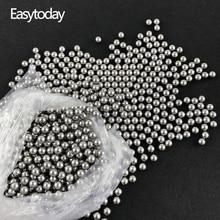 Easytoday 200pcs/Lot Standard 8.5mm Catapult Steel Balls Ammo Accessories Slingshot Hunting High-carbon