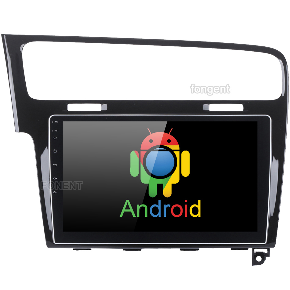 10,2 Android 8,0 Автомобильный GPS Navi Радио плеер для VW Golf 7 2013 2014 2015 2016 2017 2018 Восьмиядерный 4 Гб + 32 ГБ стерео Мультимедиа DVR