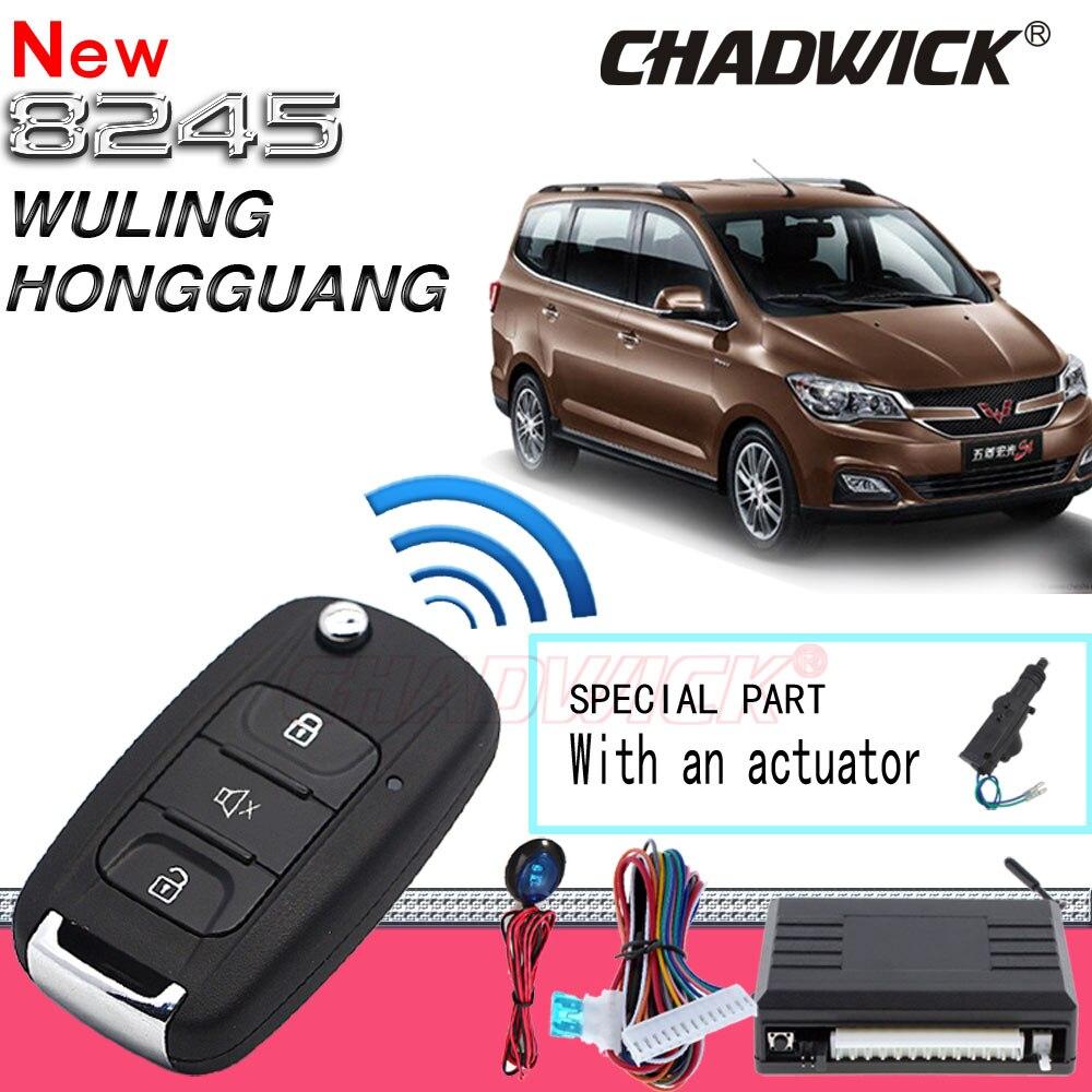 Flip clé pour WULING Hongguang s s1 Auto de sécurité voiture entrée sans clé à télécommande centrale porte verrouillage déverrouillage qualité CHADWICK 8245