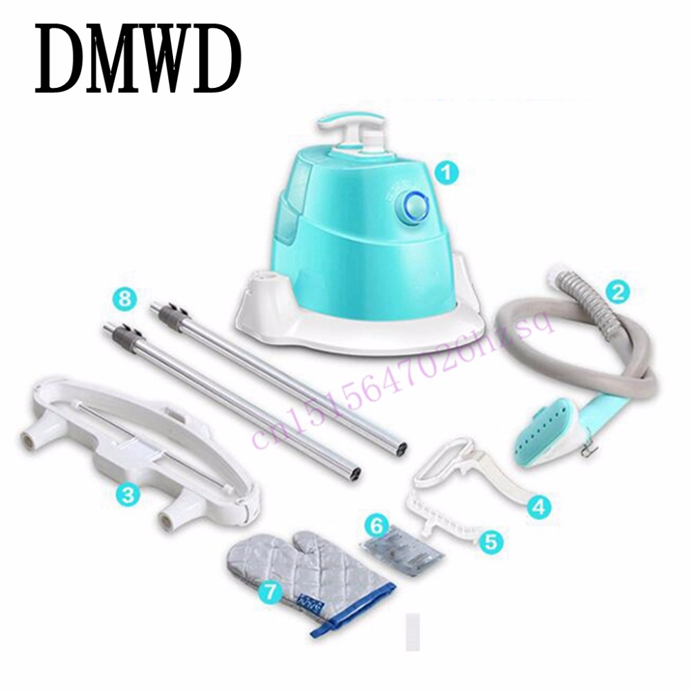 DMWD Steam Ironing Double rod hanging ironing machine household mini steam ironing clothes iron 1800w 1.5L sdi splitter 1x4 3g hd sdi repeater 4 port sdi splitter support 1080p 100m distribution extender free shipping