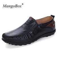 MangoBox Brand Men Driving Loafers Sneakers Black Male Fashion Shoes Spring Autumn Mens Flats Footwear Popular