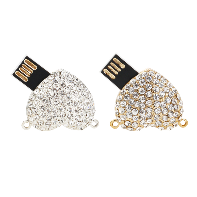 Image 5 - Usb Flash Drive 32GB Crystal Angel Wings Pen Drive 4GB 8GB 16GB 64GB 128G Pendrive Usb 2.0 Memory Stick High Quality Thumbdrives-in USB Flash Drives from Computer & Office