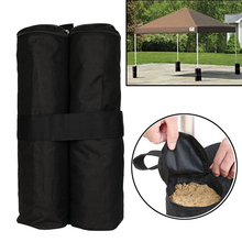Outdoor Camping Tent Fixed Sand Bag Shelter Practical Pavilion Leg Windproof Marquee Weights Feet Bags For Pop Up Canopy Tents