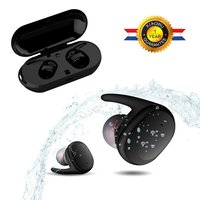 Sago S9100 In Ear Earphones Wireless Bluetooth Earbuds IPX5 Waterproof With Mic And Touch Control For