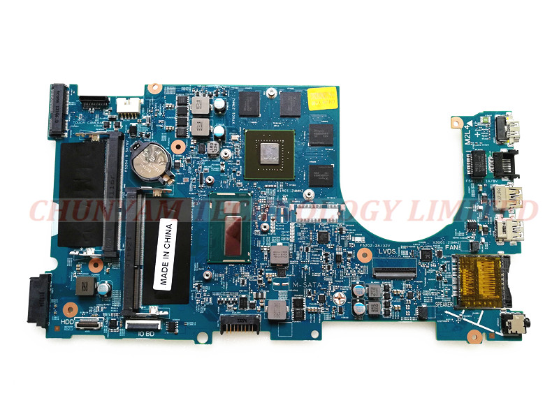 DP/N 02D5TK FOR DELL Inspiron 17 7000 series 7737 Laptop Motherboard CN-02D5TK I5-4200U PWB E53D4 REV:A00 Mainboard 90DayWarrant cn 0md666 laptop motherboard for dell inspiron 6400 e1505 da0fm1mb6f5 rev f 945gm ddr2 mainboard mother boards