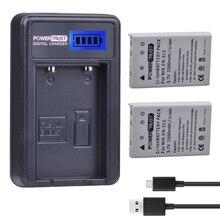 2 шт. 3.7 В EN-EL5 enel5 Батареи для камеры + ЖК-дисплей USB Зарядное устройство для Nikon Coolpix P530 P520 P510 P100 P500 P6000 p5100 P5000 P80 P90