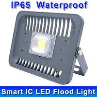 LED Flood Light 30W 50W 100W 110V 220V 230V IP65 Waterproof Smart Driver LED Flood Light
