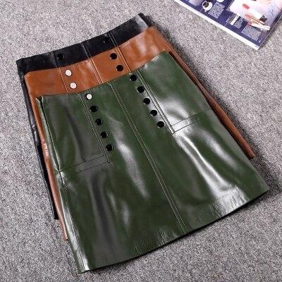 Rivet High Waist Skirt A line Skirt in Skirts from Women 39 s Clothing