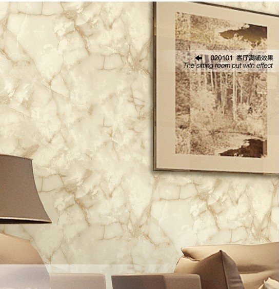 ФОТО Modern Chinese style fashion imitation marble wallpaper Hotel lobby front desk wallpaper The film and TV background wallpaper