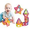 Bloques de construcción magnética juguetes mini 100/90/80 unids diy alegría revistas conjunto marca inspire niños educativos de construcción diseñador de juguetes