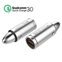 QC 3 0 Quick Charge Pistol Shotgun Sniper Rifle Bullet Modeling Car Charger 304 Stainless Steel