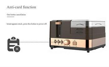 3 in 1 breakfast machine kitchen tools toast furnace automatic household multi-function breakfast toast toast machine 2