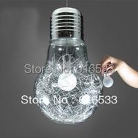 2016 Modern Loft Brief Cord Lustre Edison Big Bulb Pendant Lamp Plate Kitchen Dinning Bedroom Living Room Home Decor Lighting