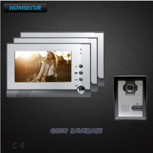 HOMSECUR 7 Video Door Phone Intercom System Electric Lock Supported for Home SecurityHOMSECUR 7 Video Door Phone Intercom System Electric Lock Supported for Home Security