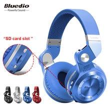 9f892742e8a Bluedio T2+ fashionable foldable over the ear bluetooth headphones BT 4.1  support FM radio& SD card
