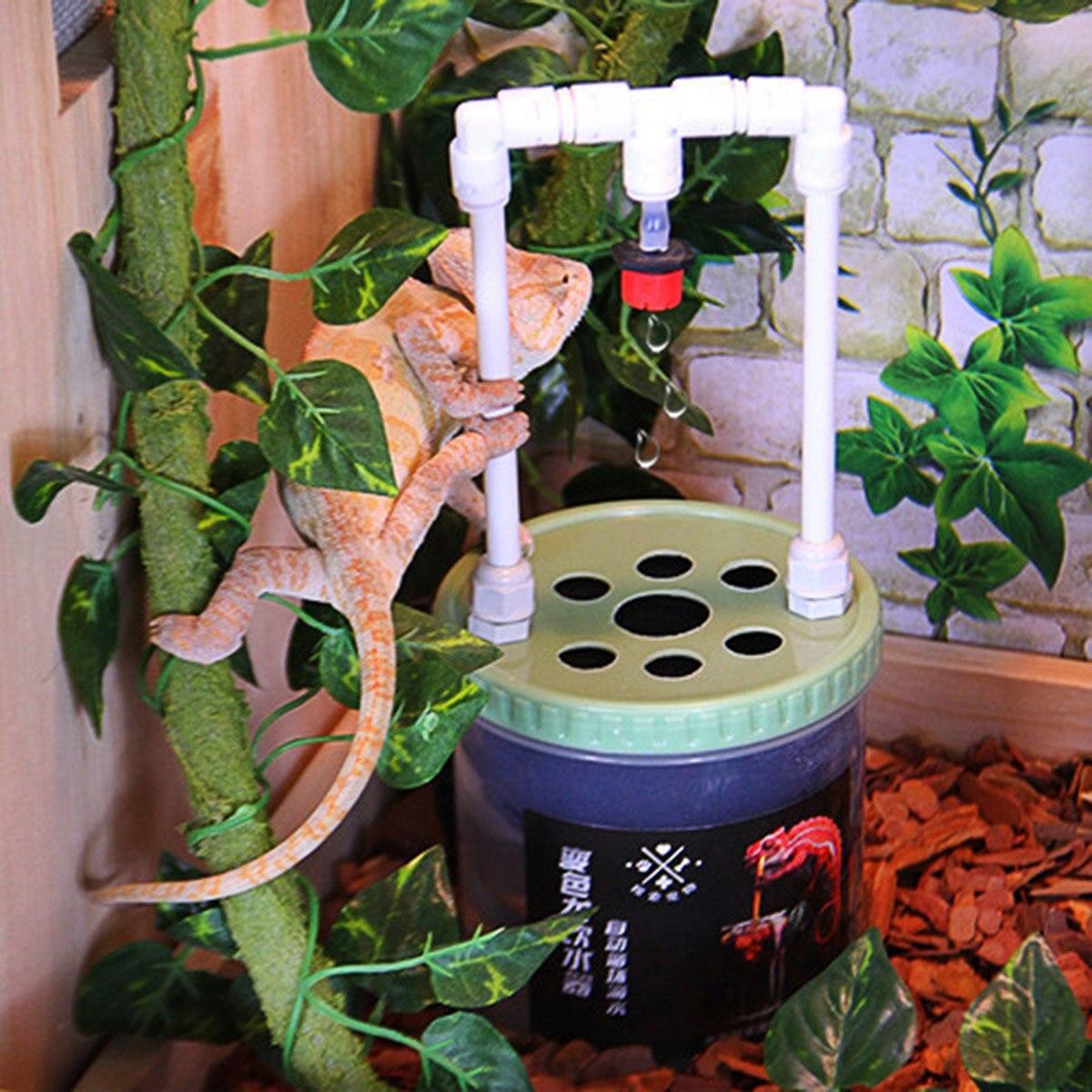 2W Reptiles Drinking Water Dripper Lizard Snake Spiders Water Dispenser Terrarium Habitats Feeding Supplies 500/700ml 220V tech 2 scanner for sale