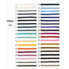 2MM SKY SYSTEM milan cord Jewelry & packing & shoes rope Necklaces & Bracelets cords 8meters/roll NO1~19