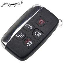 Jinyuqin Smart Remote Key Keyless Shell Fob Für Jaguar XE XFL XJ XJL XF C-X16 V12 Gitarre F X Typ 5 tasten Schlüssel Fall
