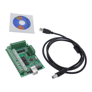 Image 5 - Driver board CNC USB MACH3 100Khz breakout board 5 axis interface driver motion controller
