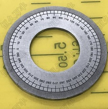 Diameter:50mm  thickness:2mm 360 degree Dial plate