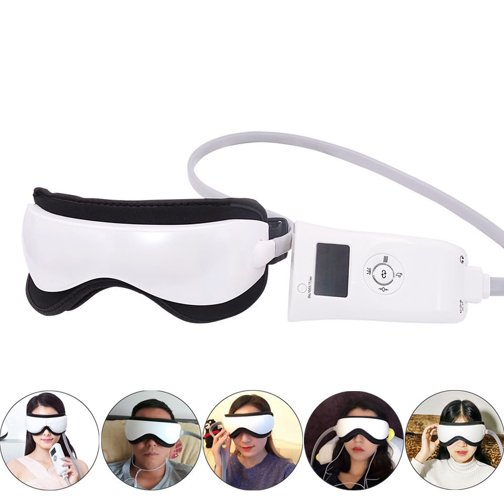 Dropshipping Electric Eye Massager Mask Migraine Eye Vision Improvement Forehead Eye Care Glasses Massager Health Care Tools 1