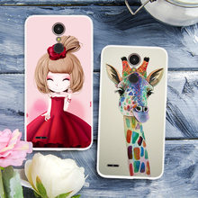 Cartoon Animal Flower TPU Case For LG K10 2017 painted Phone Case For LG K10 2017 X400 M250 M250N Soft Silicone Back Cover Case(China)