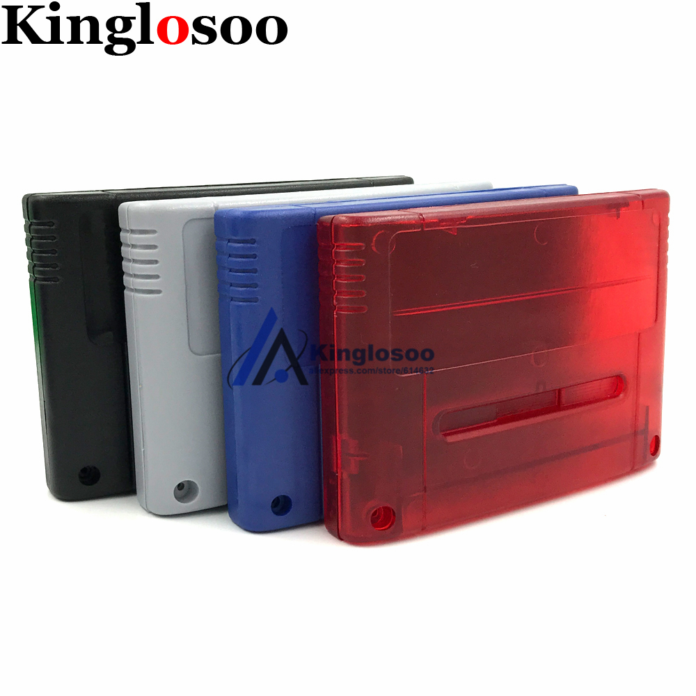 PAL Japanese/European Version Game Cartridge Shell For Nintendo SNES Console Game Card Housing Case W/ Screw