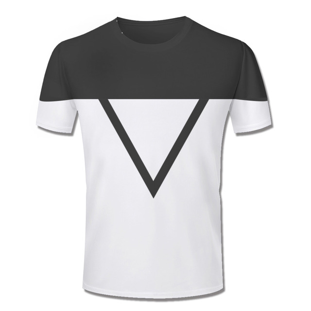 6e00cd89 New Fashion Mens T Shirts Summer White And Black Color T-shirt Simple  Design Round Neck Short Sleeve Men Shirt S-4XL Top Tees