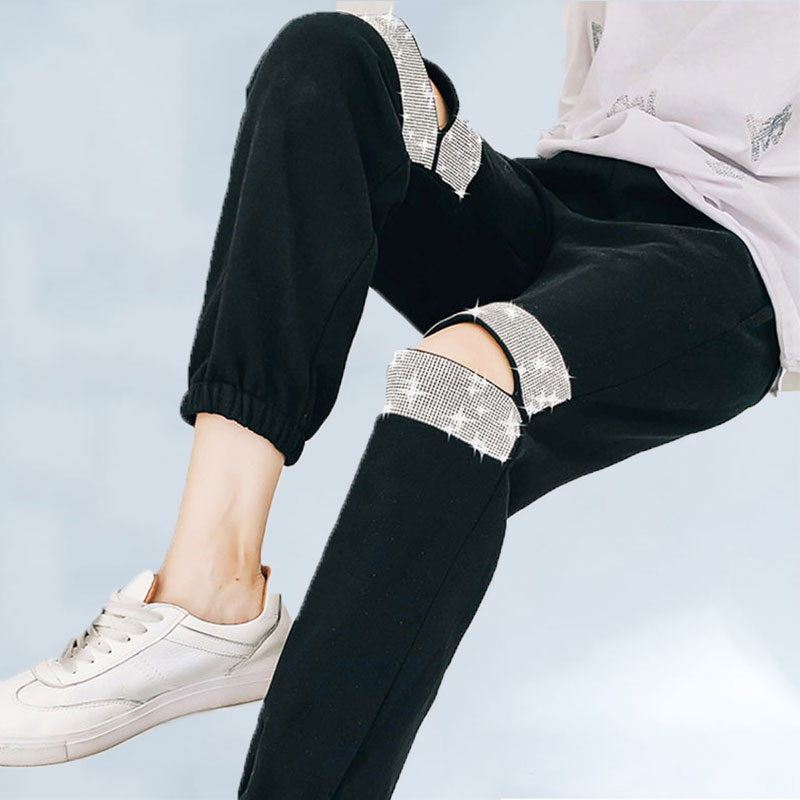 Женские спортивные брюки, шаровары для отдыха, в европейском стиле, на лето, 166|Брюки |   | АлиЭкспресс