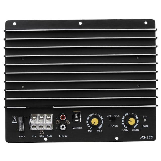 Cheap 12V 100W 150W Car Auto Stereo Audio Subwoofer Power Amplifier Board Car Audio Power Amplifier Powerful Bass Subwoofers Amp New