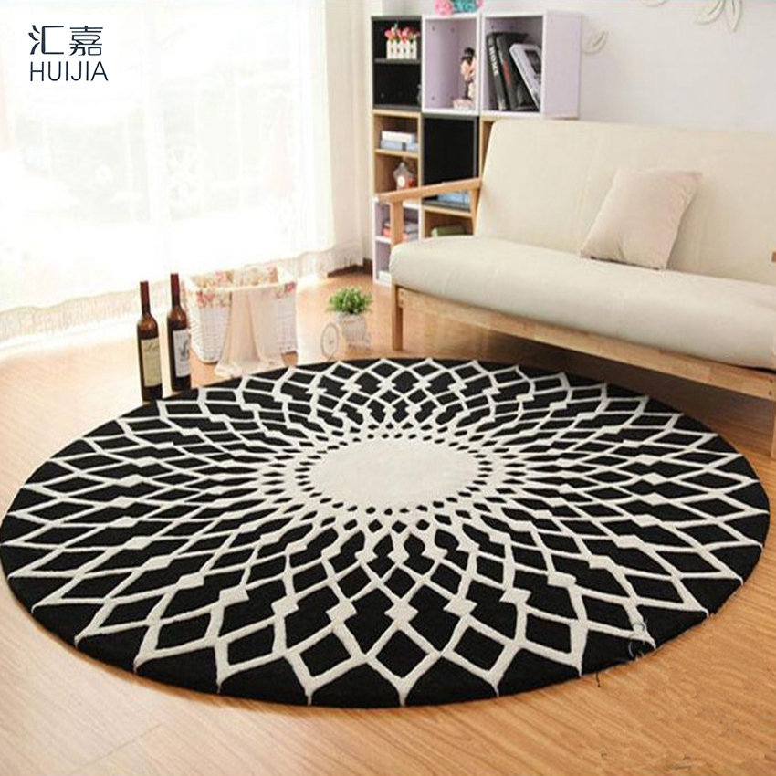 abstract geometric area rug and carpet soft round floor door mat tapete tapis cuisine carpets for