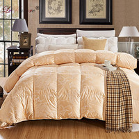 LeRadore 2.7 3KG Goose Down Quilt Duvet Queen King Size White/Pink/Silver/Golden Luxury Winter Blanket Comforter Filler