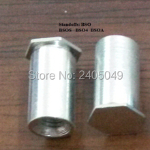 BSOS-632-14 Blind threaded  standoffs,  Stainless steel, Nature ,PEM standard,in stock, Made in china,