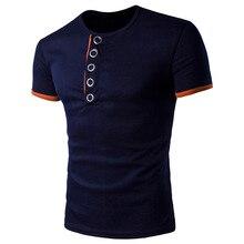 Male T shirt 2017 Short Sleeve t Shirt Solid colorV-Neck Men T-Shirt Camisetas Fashion Hombre Tee Homme Shirts