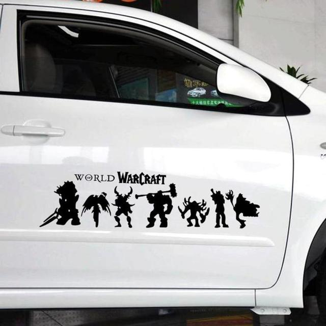 Aliauto car styling world war craft heroes decoration car sticker and decal for ford focus
