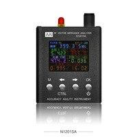N1201SA/N1201SA + Ruijie антенный анализ и измерительный прибор 35 МГц ~ 2,7 ГГц УФ RF векторное сопротивление антенный анализатор