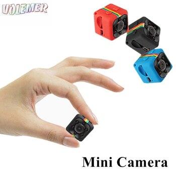 Volemer SQ11 Mini Camera full HD 1080P  Sensor Portable Security Camcorder Night Vision Motion Detection Support Hidden TFcard Night vision