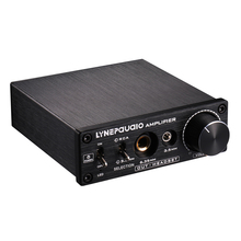 Pre-stage Stereo Signal Magnifier AV 2-IN-3-Out Headphone Amplifier HiFi Audio