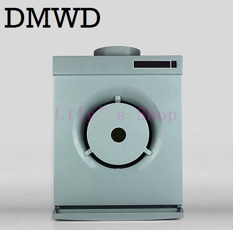 DMWD MINI side suction hood rental apartments small kitchen smoke exhaust ventilator cooker hoods range hood exhaust fan EU US