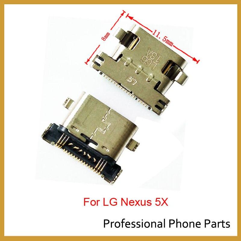 2Pcs/lot, <font><b>Original</b></font> New Micro USB <font><b>Charger</b></font> Charging Connector Port Power Jack For LG <font><b>Nexus</b></font> <font><b>5X</b></font> G4 G5 G3 D850 D851 D855 VS985 LS990