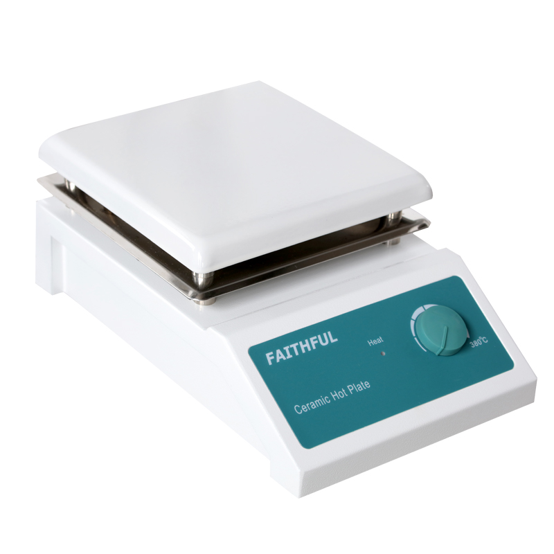 SH-4A Laboratory Heating Plate Hot plate,19x19cm Ceramic Panel Hotplate, 5000ml Volume цена