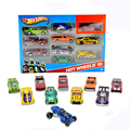 10Pcs Metal Car Model 1:64 Classic Antique Collectible Random Original Race Cars  Mini Alloy Cars Toy For Boys Hobby Collection