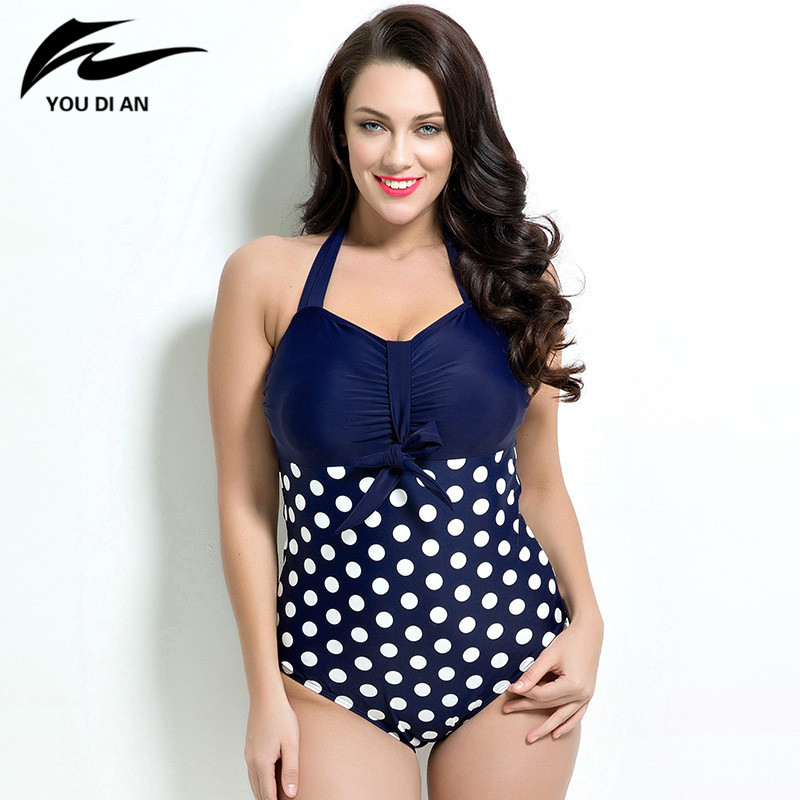 bathing suits for big busts 2017 summer style womens plus size one swimsuit 10352
