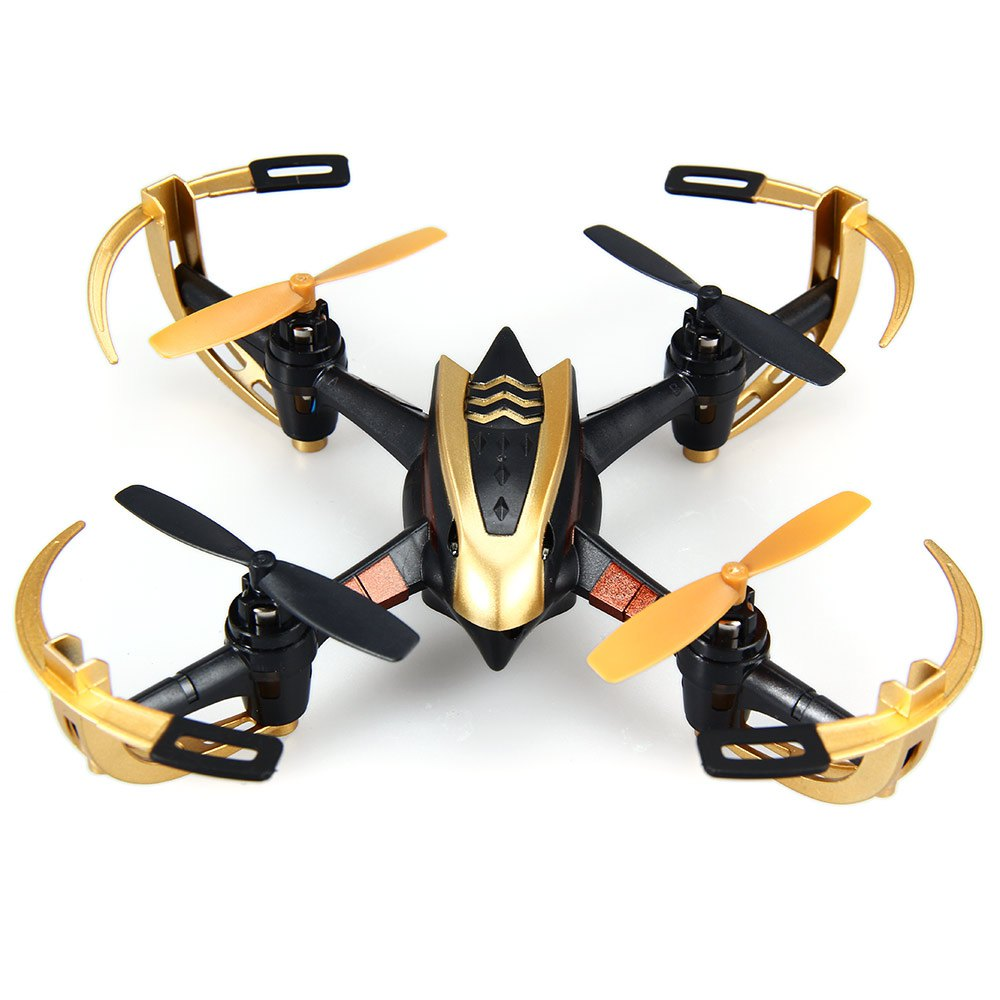 Yizhan Golden X4 4CH 6 Axis RC Drone Quadcopter UFO 3D Flying Remote Control Helicopter with 2.4G Transmitter LCD Display  new version yizhan tarantula x6 1 4ch rc quadcopter mimi drone with hyper ioc bright led lights remote control helicopter toy