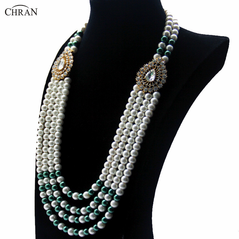 pearl single strand necklace product jewellery faux carus