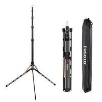 Fosoto FT 190B Gold Led Light Tripod Stand Bag 2.22m Softbox For Photo Studio Photographic Lighting Flash Umbrellas Reflector