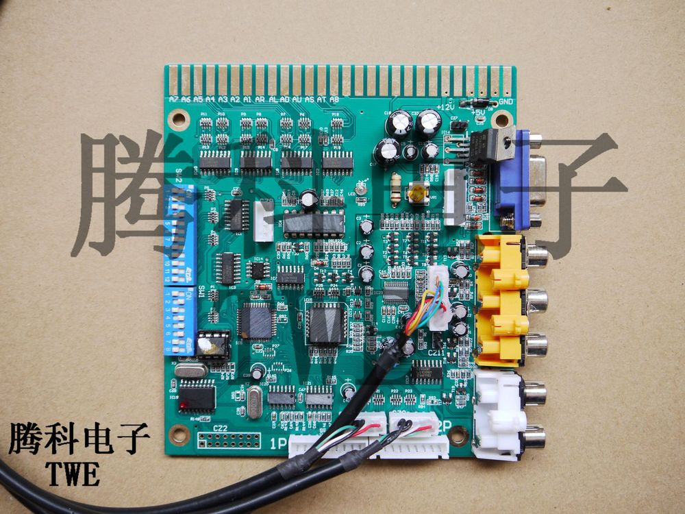 TWE MGCD Arcade game converter board, Tekken6, PS3 JAMMA cabinet machine, coin operated, credit control PCB board - TECHNWIN ELECTRONIC COMPANY (TWE store)