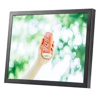 Computer monitor 15 inch with VESA hole lcd monitor mount portable monitor usb power monitor with AV/BNC/VGA/HDMI/USB interface