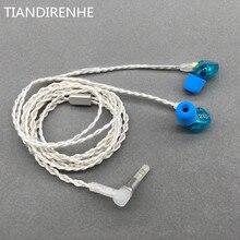 2019 DIY MMCX SE215 In Ohr Kopfhörer Headset Hifi Noise Cancelling Stereo Bass Kopfhörer Aptx Bluetooth Adapter für shure SE535